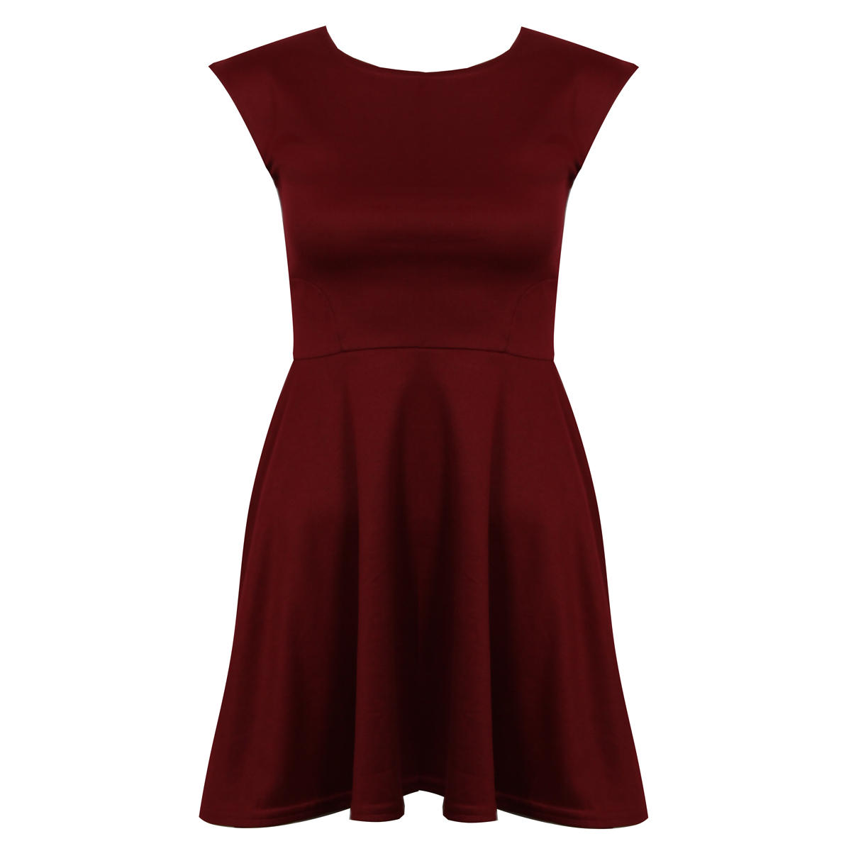 Wine Skater Dress Preview